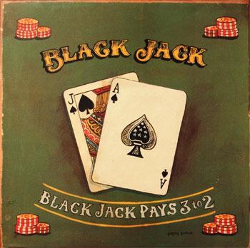 black jack hands