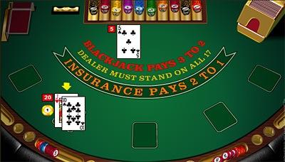 Resultado de imagen de mesa blackjack