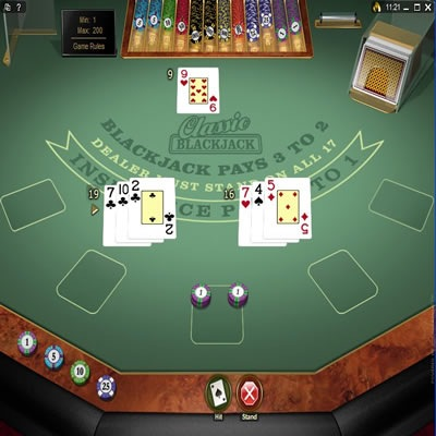 blackjack virtual