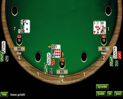 probabilidades blackjack