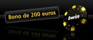 200 euros de bono en casino bwin